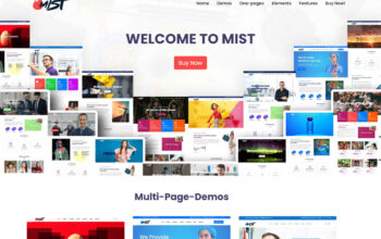 Mist | The Business Multi-Purpose HTML5 Website Template