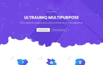 Ultrauniq | Business Multi Purpose HTML5 Template